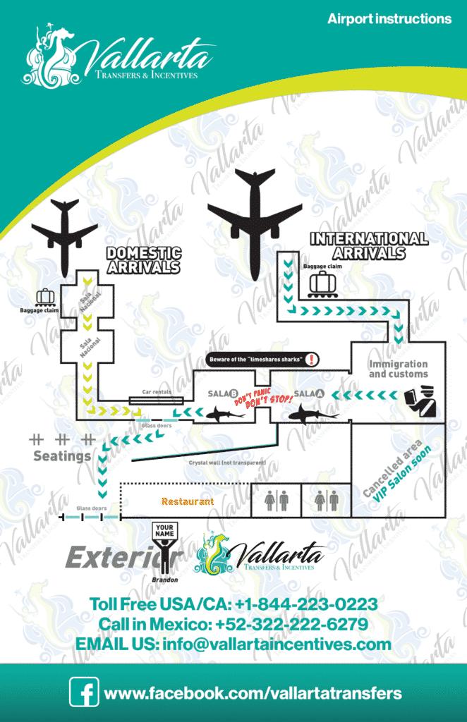 Puerto Vallarta Aiport Map
